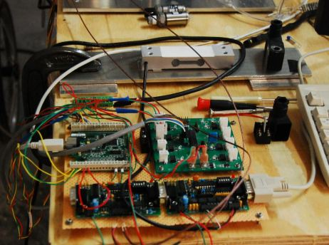 Breadboard and load cell